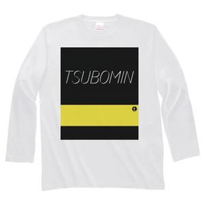 TSUBOMIN / COLOR BAR LONG SLEEVE T-SHIRT #FDED00