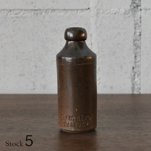 Vintage Pottery Bottle 【5】/ ポタリー ボトル / n5-1806-0084-05