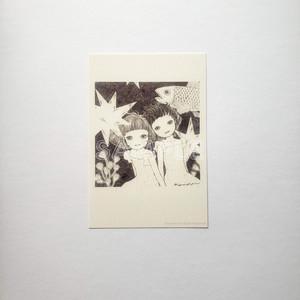 ポストカード「星の化石」
