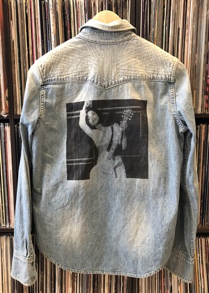 REMAKE SADE LEVIS DENIM SHIRT   (used)
