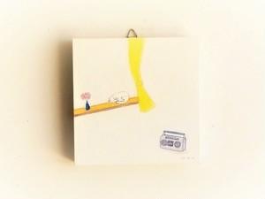 ※再販可能 アートパネル 「陽だまりのネコ」