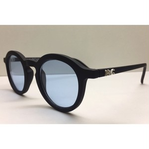 HONEY&CHRIS CLASSICAL GLASSES(BLACK/BLUE)