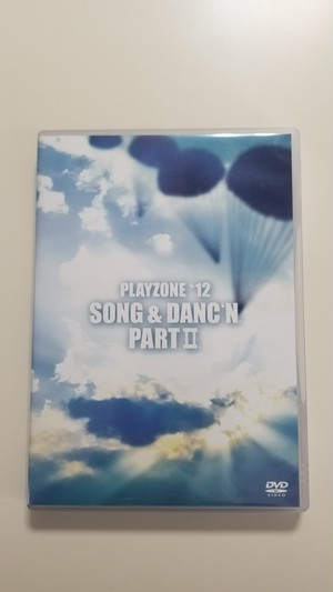 PLAYZONE'12 SONG & DANC'N。 PARTII。 【DVD】