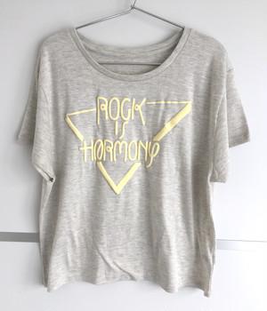 ROCK IS HARMONY ドルマンT-shirts  [オートミール] ※Mのみのワンサイズ