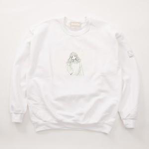 FUSEMACO CREWNECK SWEAT - WHITE