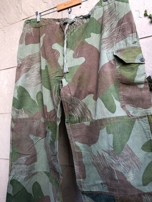 1950s Belgium military camouflage over trousers 3