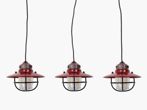 ●新色 ベアボーンズリビング エジソンストリングライトLED レッド