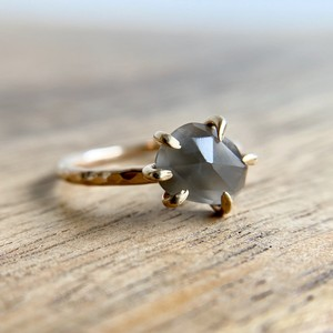 Bibelot LA ::: Grey moonstone Ring