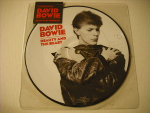 "【7"" PICTUREDISC】DAVID BOWIE / BEAUTY AND THE BEAST"