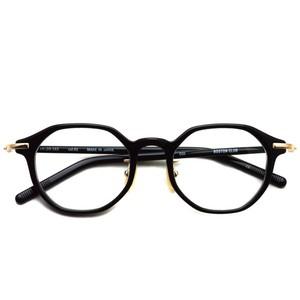 BOSTON CLUB ボストンクラブ /  COX01 コックス /  Black - Gold ブラック-ゴールド メガネ フレーム