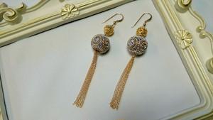 Oriental Gold Pierce purple