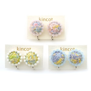 kincot イロイト 小さなまるイヤリング(縁取りビーズ)