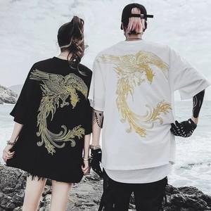 【トップス】鳳凰図柄韓国系ファッション半袖Tシャツ29386192
