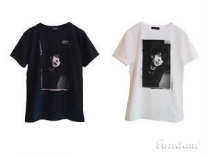 イアン・マッカロクTシャツ〈FUNDOM×HERBIE YAMAGUCHI〉(黒)