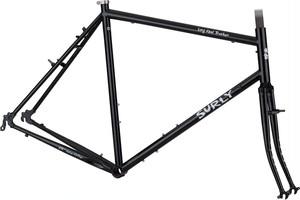 在庫限り*SURLY* long haul trucker frame&fork set (black)