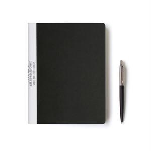 【ネコポス対応】MUCU Blank Note ブラック Mサイズ