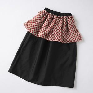 【size 120】シフォン付きロングスカート