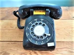 品番Z-027 ヴィンテージ電話機 ダイヤル式