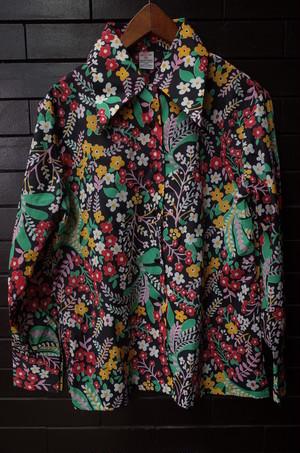 Flower pattern shirt blouse 花柄 シャツ ブラウス