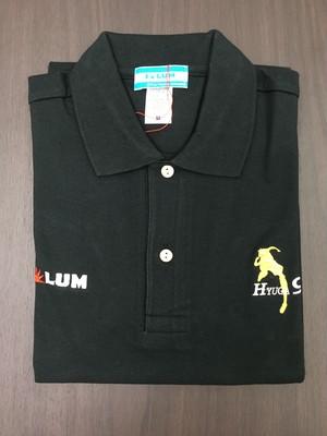 SOLUM ポロシャツ(BLK 9HYUGA)