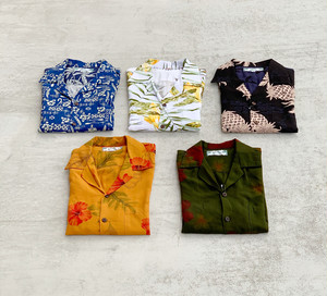 TWO PALMS 【S/S Hawaian Shirt】