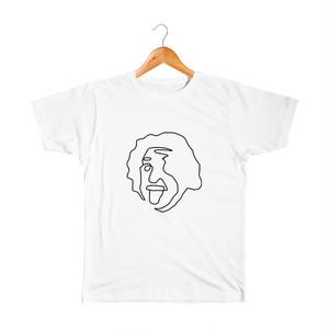 Einstein キッズTシャツ