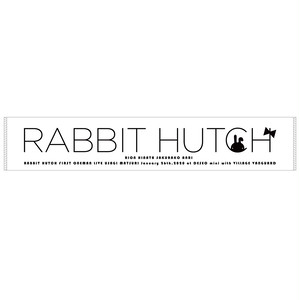 RABBIT HUCH first one man live〜兎祭り〜ver.マフラータオル