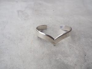 〈vintage silver925〉heart carv bangle
