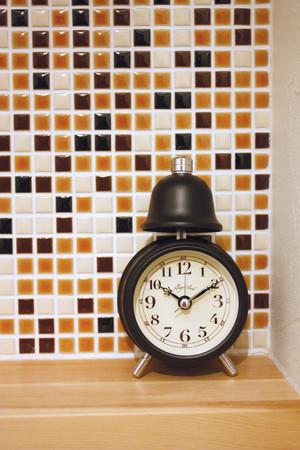 アレグロ クロック 目覚まし時計 アナログ 置時計