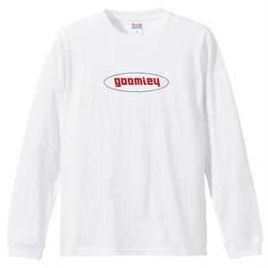 goomiey PhotoロンTシャツ(ホワイト)