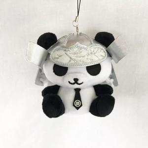 カッコイイ × カワイイ = 戦国パンダ部長(銀)。マスコットキャラクターとのコラボ商品を実現!♪( ´▽`)