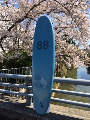 88SURFBOARDS  7'0''  Tri Fin  S.Blue/S.Blue  本州送料¥13,200込み価格