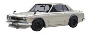 ハコスカ 1/18 日産 スカイライン GT-R (KPGC10) シルバー