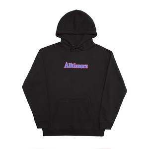 ALLTIMERS / BROADWAY EMBROIDERED HOODY -BLACK-