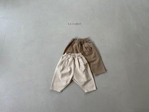 【予約販売】classic pants〈La.camel〉