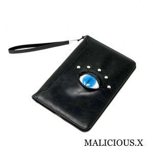 cat eye iPad mini case / blue