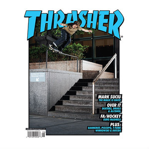 THRASHER - August 2019. Issue 469