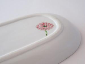 彩花 長丸皿