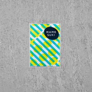 リソグラフ ポチ袋[チョップスティック]Turquoise × Yellow