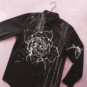 F's rose【 藤井清秀  シャツアート】薔薇 L