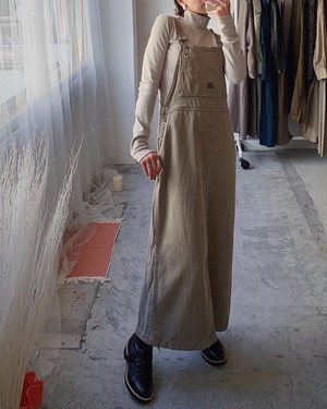 made in usa vintage overall dress