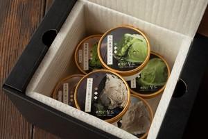 お茶屋のジェラート詰め合わせセット(6種類×1個ずつ)