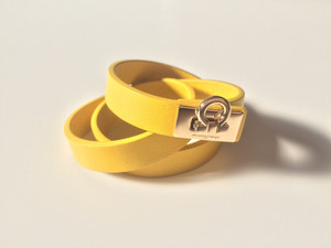 Salvatore Ferragamo Vanilla Yellow Bracelet |インスタでも話題の海外セレブ系レディースファッション Carpe Diem