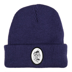 PASS PORT / TOBY ZOATES COPPER BEANIE -NAVY-