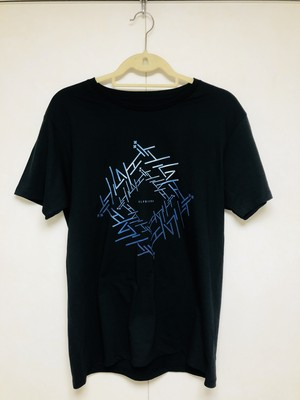 ロゴTシャツ(グラデーションブラック)