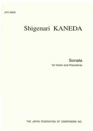 K29i98 Sonata(Violin and Pianoforte/S. KANEDA /Full Score)