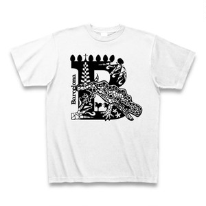 Tシャツ Barcelona:ホワイト
