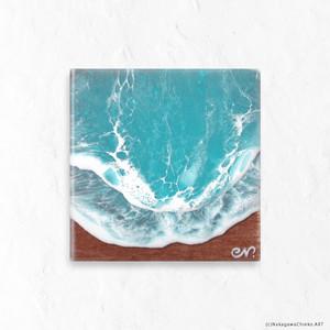 OCEAN ART 2020#22 (H10×W10×D2.3cm)(Class S)