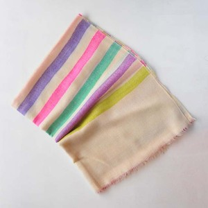 nukuiro 手織りパシュミナストール(nu-21)