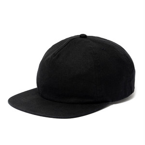 "Just Right ""Blank BB Cap Linen Heavy Ox"" Black"